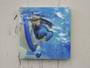 Snorkeling. Oil in Canvas. 2' x2' For Sale