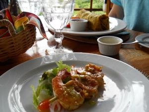 food at LaDera Restaurant, one of Oprah's 'must see views' and fabulous food.